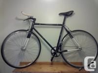 This road bike has an All City frame (made in the