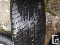 M+S 215/65R16 Not much tread left on the tire, but the