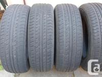 4 All Season Nexen Tires 195/65R15 Almost new used for