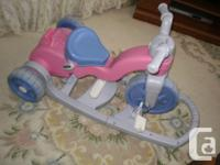 This trike is suitable for babies stage and up, 3