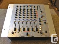 Used. 6 dual stereo line inputs, 2 with mic