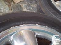 4 Alloy wheels - Dodge Ram 1500 original vehicle tire