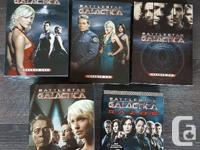 Almost complete set of Battlestar Gallactica series