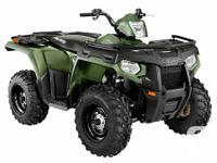 Almost New ATV Quad Ppolaris 400HO for Rent.