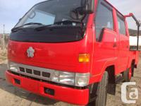 This Toyota Hiace [crew cab, 06 seater ] has been