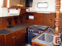 "Aloha 34 Sailboat ""Eleuthera IV"" was built in Ontario"