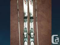 Skis: k2 Raider Apache All Mountain skis. 156