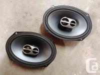 Alpine SPS-619 6x9-Inch Coaxial 3-Way Type-S Speaker