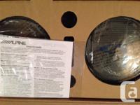 "Pair of 6 1/2"" Alpine type S speakers. Brand new in"