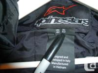 Mens size 42 Alpinestar Jaws leather jacket. Selling