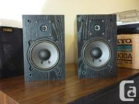 Made in USA 1992 Excellent sounding compact speakers