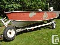 harbercraft alum fishing boat FOR SALE. 30hp 2stroke