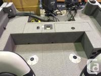 Lockable Rod Storage Integrated Alumatrac System Side