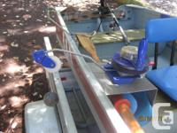 Completely original 12' Springbok aluminum boat,