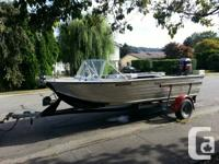 I have a 18FT aluminum outboard jet boat for sale. It