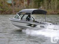 New River Hawk JET Boat. Specifications 22 feet long