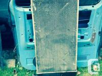 I have an aluminum radiator in good shape. No leaks or