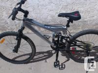 Aluminum Suspension Mountain Bike 24 inch rims think