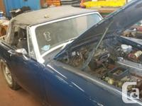 Make MG Year 1975 Colour Blue Trans Manual kms 2800