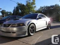 4.6 liter v8 mustang GT, amazing car and roars like no