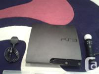 A brand new ps3 with 8 fully working games