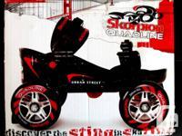 Brand NEW Skorpion Urban Quadline blades. Adjustable-