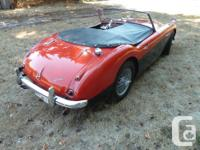 Used, Make Austin-Healey Model 100 Year 1959 Colour red with for sale  British Columbia