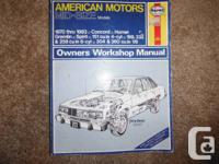 American Motors Mid-Size models (Concord, Hornet,
