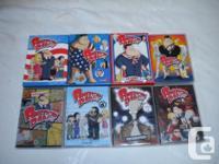8 VOLUMES - 25 Disks of this award winning series. If