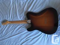 This is an American deluxe telecaster from 2012. The