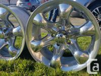 These Beautiful American Eagle Alloy Rims are in