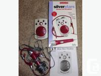 American Girl Today Silver Stars Headset and Microphone