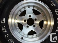 American Racing Rims + Tires for sale 2x Front