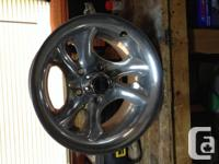 Set of 4 American Racing wheels and set of 4 Uniroyal