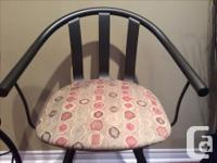 3 Amisco bar stools with back rest, $120 for all 3 or