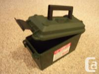 Brand New MTM CASE GARD AMMO CAN AC30T Made in USA