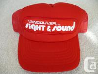 Vancouver View & & Noise Foam & Net Red Baseball Hat,