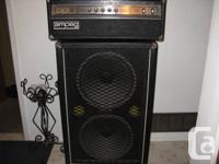 Ampeg model V-4B Bass Head Mid 70's SVT sound & Carvin