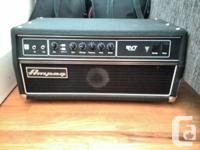 Hello! Selling my bass amp and cab.  Both work