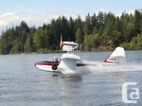 Volmer Jensen Sportsman Amphibious flying boat.
