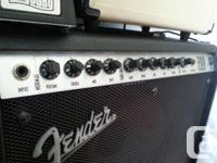 Fender Roc Pro 70 W rms, hybride pré-amp à lampe!