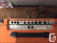 Orange 'Crush' 35LDX practice amplifier. 35 watts,