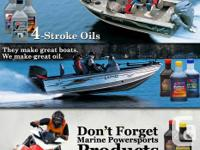 Product Application AMSOIL HP Marine is recommended for
