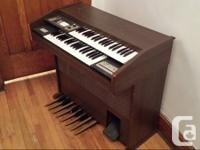 FULLY ANALOGUE ORGAN FOR SALE  Price negotiable. Bought