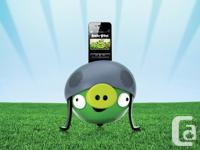 The evil Helmet Pig is made for iPod/iPhone with a dock