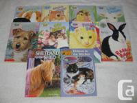 These JUNIOR Chapterbooks are in EXCELLENT condition,