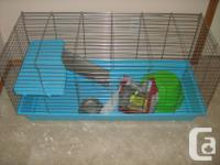 Cage suitable for rabbit,  or other small animal. Comes