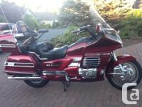 Make Honda Model Goldwing Year 2000 kms 88100 GARAGE