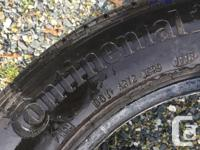 These are the stock tires off my new Subaru Impreza.
