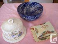 Antique 3 Styles Of   DISHES